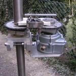Antennenrotor offen