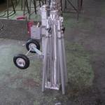 Teleskopmast Rundmast mit Hilfsmast zum fahren